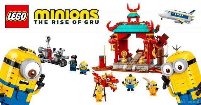 Lego Reveals Five New Sets Based On Minions The Rise Of Gru News News Break