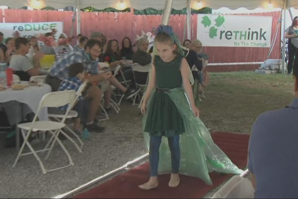 Picture for From recycled materials to fabulous - 13 local celebrities hit the runway for a good cause