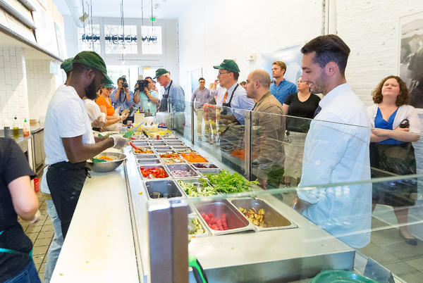 Picture for Favorite Chicago Salad Spot, Sweetgreen, Hires Osaka, Goes Public