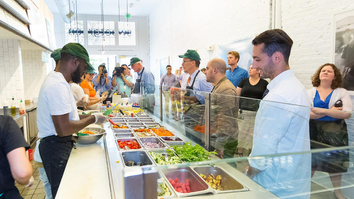 Cover for Favorite Chicago Salad Spot, Sweetgreen, Hires Osaka, Goes Public