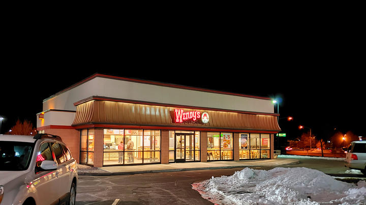 Cover for Wendy's on Dell Range in Cheyenne is getting remodeled! Here is what it looks like so far.