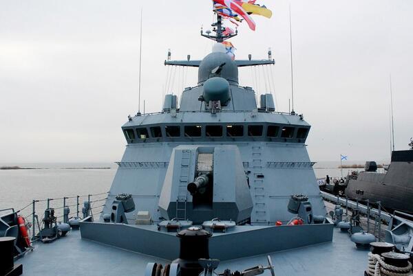 Picture for Crimean Shipyard launches new Karakurt-class corvette built for Russian Navy