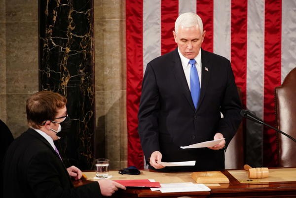 Picture for WATCH: 'Let's get back to work,' Pence urges Senate