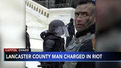 Cover for Pennsylvania man arrested for allegedly assaulting officers during Capitol riot