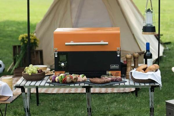 Picture for ASMOKE portable wood pellet grill and smoker