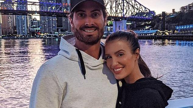Picture for Cricket WAG Erin Holland shares a touching tribute to her husband Ben Cutting as he's stranded and alone in Covid-ravaged India - just two months after they tied the knot