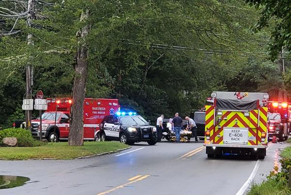 Picture for Sandwich Woman Seriously Injured In Route 6A Car Crash