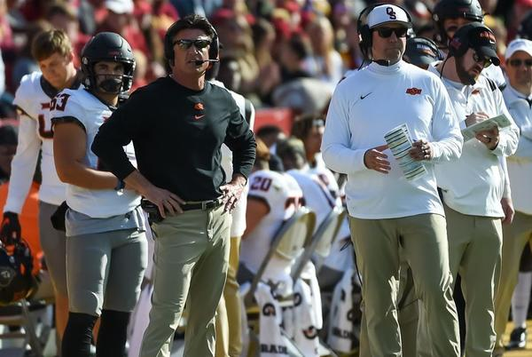 Picture for Everything Mike Gundy said after Oklahoma State's loss vs. Iowa State