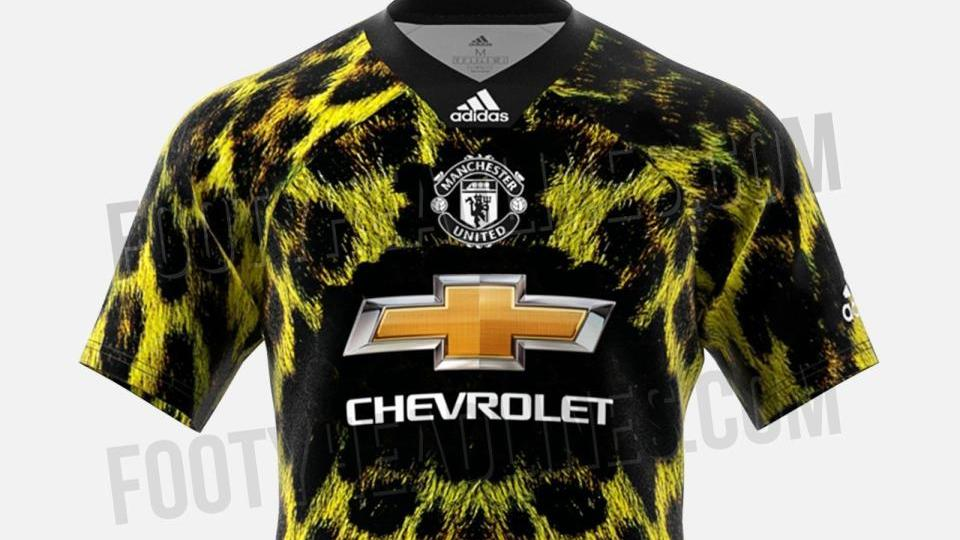 Manchester United To Release New Fourth Leopard Print Kit That Costs 80 And Will Only Be Used In Fifa Game News Break
