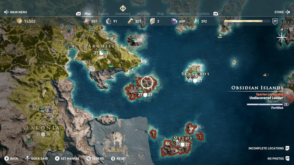 Assassin S Creed Odyssey Obsidian Islands How To Complete The